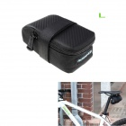 ROSWHEEL 13876lk Bike Bicycle Nylon Saddle Seat Tail Bag - Black (L)