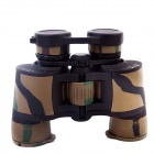 BIJIA 8x42 High-Power High-Definition Night Vision Binoculars - Camouflage Yellow