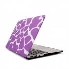 Hat-Prince Purple Deer Skin Pattern Protective Full Body Matte Case for MacBook Air 11.6""