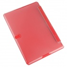 Hat-prince Protective 3-Fold Ultra-thin Case w/ Holder for Samsung Galaxy Tab S 10.5 T800 - Red