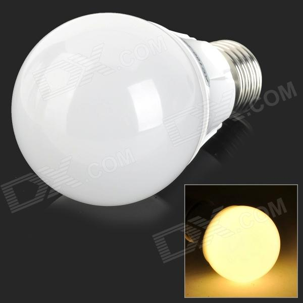 E27 5W 300lm 3000K 26-SMD 2835 LED Warm White Light Bulb - Silver + White (100~250V)