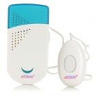 D-203 Wired Door Bell - White + Blue (2 x AAA)