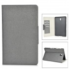 Protective PU + PC Case w/ Stand / Card Slots for Samsung Galaxy Tab S 8.4 T700 - Grey