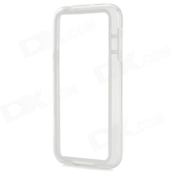 Protective TPU + PC Bumper Frame for Samsung Galaxy S5 Mini - White