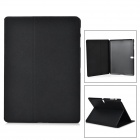 "Sand Pattern Protective PU + PC Case w/ Stand for Samsung Galaxy Tab S 10.5"" T800 - Black"