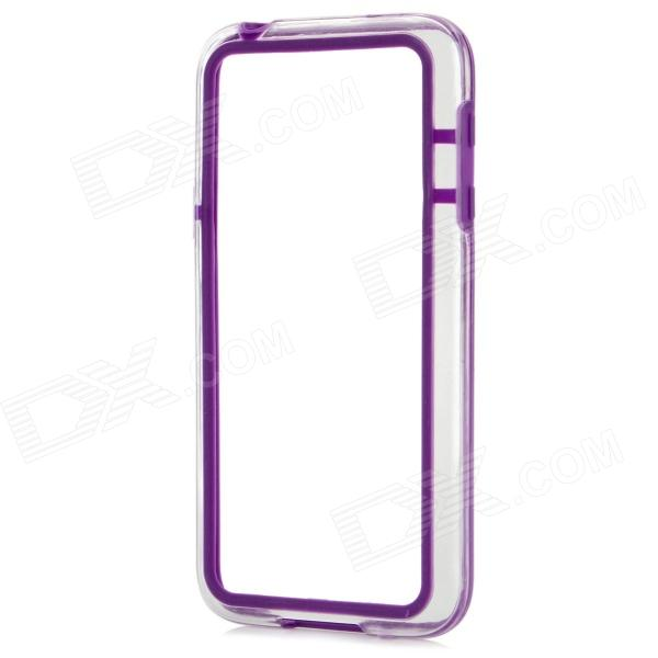 Protective TPU + PC Bumper Frame for Samsung Galaxy S5 Mini - Purple protective tpu pc bumper frame for samsung galaxy s5 mini green