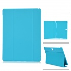 "Protective PU + PC Case w/ Stand for Samsung Galaxy Tab S 10.5"" T800 - Light Blue"