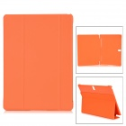 "Protective PU + PC Case w/ Stand for Samsung Galaxy Tab S 10.5"" T800 - Orange"