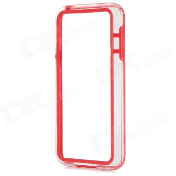 Protective TPU + PC Bumper Frame for Samsung Galaxy S5 Mini - Red protective tpu pc bumper frame for samsung galaxy s5 mini green