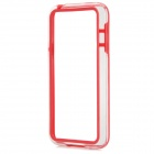 Protective TPU + PC Bumper Frame for Samsung Galaxy S5 Mini - Red