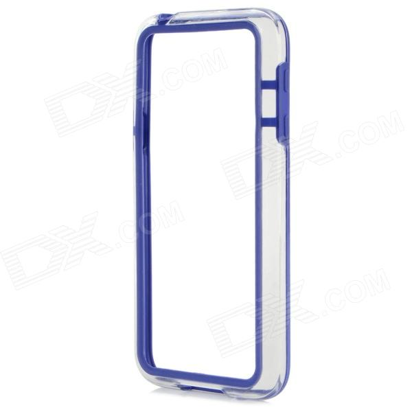 Protective TPU + PC Bumper Frame for Samsung Galaxy S5 Mini - Deep Blue protective tpu   pc bumper frame for lg
