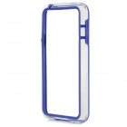 Protective TPU + PC Bumper Frame for Samsung Galaxy S5 Mini - Deep Blue