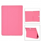 "Protective PU + PC Case w/ Stand for Samsung Galaxy Tab S 10.5"" T800 - Purplish Pink"