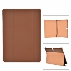 "Protective PC + PU Case w/ Stand for Samsung Galaxy TabS 10.5"" T800 - Brown"