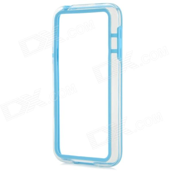 Protective TPU + PC Bumper Frame for Samsung Galaxy S5 Mini - Blue protective tpu pc bumper frame for samsung galaxy s5 mini green