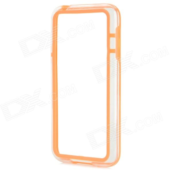 Protective TPU + PC Bumper Frame for Samsung Galaxy S5 Mini - Orange protective tpu pc bumper frame for samsung galaxy s5 mini green