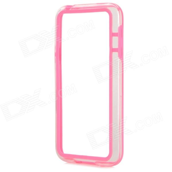 Protective TPU + PC Bumper Frame for Samsung Galaxy S5 Mini - Pink protective tpu pc bumper frame for samsung galaxy s5 mini green