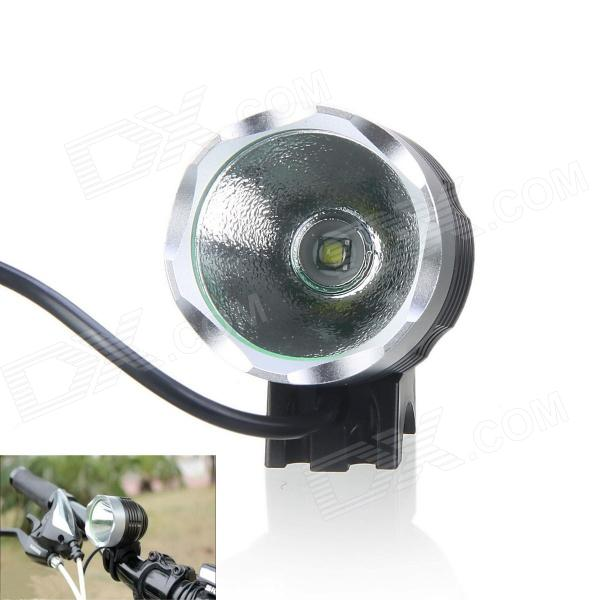 KINFIRE U2 600lm 3-Mode White Bicycle Light w/ CREE XM-L T6 - Silver Grey