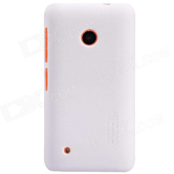 NILLKIN Matte Protective PC Back Case for Nokia Lumia 530 - White protective matte frosted screen protector film guard for nokia lumia 900 transparent