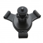 3-Suction Cup Holder Mount for SJ4000 / GoPro Hero 4 / 3 / 3+ / Sony AS15 / AS30 / SJ4000 - Black