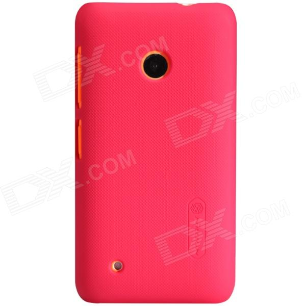 NILLKIN Matte Protective PC Back Case for Nokia Lumia 530 - Red protective matte frosted screen protector film guard for nokia lumia 900 transparent