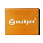 "Mallper Replacement 3.7V 1000mAh"" Li-ion Battery for Samsung CORBY 2 / S3850 / S5530 + More - Orange"