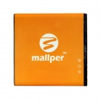 "Mallper 3.7V ""1400mAh"" Rechargeable Battery for Sony Ericsson BA700 / Xperia Neo MT15i / Pro MK16i"