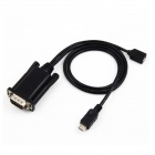UNITEK Y-1051 Micro USB to RS232 Serial Converter