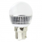 HONSCO B22 3W 220lm 6500K 6-SMD 5730 Ampoule LED Cool White-Blanc + Argent (AC 85 ~ 265V)