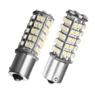 Merdia 1156 5W 68-SMD 1210 LED White Light Car Brake / Backup / Steering Lamps (Pair / 12V)