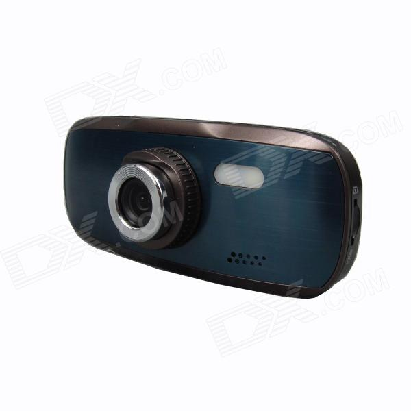 2.7 TFT 1080P 3.0MP CMOS G-Sensor Loop Recording 140 Angle Camcorder Car DVR - Brown + Dark GreenCar DVRs<br>Color Brown + Dark Green Brand N/A Model H211 Quantity 1 Set Material ABS + aluminum alloy Chipset Novatek Camera Lens 1 Image Sensor CMOS Image Sensor Size 1/2.7 Inch Camera Pixel 3.0 MP External Camera Pixel No Wide Angle 140° Optical Zoom 4X Screen Resolution 960 x 240 Screen Type TFT Screen Size 2.7 Inch ISO OthersAuto/100/200/400 Exposure Compensation -2;-1.7;-1.3;-1;-0.7;-0.3;0;+0.3;+0.7;+1;+1.3;+1.7;+2.0 Anti-Shake Yes White Balance Mode Auto Video Format AVI Decode Format H.264 Video Output PALNTSC Video Resolution 720P(1280 x 720)1080FHD(1920 x 1080)VGA(640 x 480) Video Frame Rate 30 Images JPEG Still Image Resolution 2M 4032x30248M 3264x24485M 2592x19443M 2048x1536 Audio System Monophony Microphone Yes Motion Detection Yes Auto-Power On Yes LED Qty Others1 IR Night Vision No G-sensor Yes Loop Record Others3/5/10 Delay Shutdown Yes Time Stamp Yes (ON Or OFF) Built-in Memory / RAM No Max. Capacity 32G Storage Expansion TF AV Interface AV-outMini HDMI Data interface Micro USB Working Voltage 5 V Battery Capacity 500 mAh Working Time 40 minutes Menu Language EnglishFrenchGermanItalianSpanishPortugueseRussianJapaneseChinese SimplifiedChinese Traditional Certification CE RoHS Packing List 1 x Car DVR 1 x Car charger (12~24V / 340cm) 1 x Car mount bracket 1 x USB cable (70cm) 1 x English/ Chinese user manual<br>
