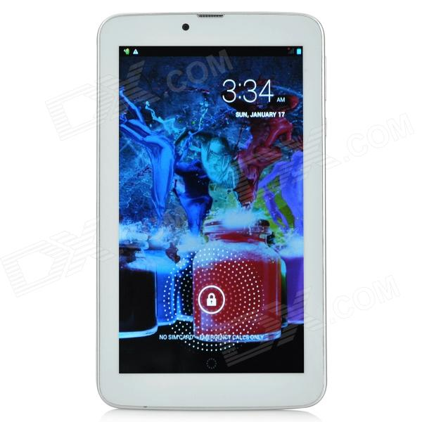 "Sanei G701 7 ""IPS Dua-Core Android 4.2 3G Tablet PC w / 512MB RAM, 4GB ROM, Dual-SIM - Valkoinen"