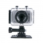 "iShare S200 2.0"" LCD CMOS 1080P Full HD Waterproof Sport Camera for Bike / Surfing / Outdoor Sports"