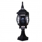"HL0086 1/3 ""CMOS 2.0MP HD IP kamera w / 6-IR-LED / Wi-Fi / IR-CUT - Musta (EU Plug)"