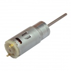 Chihaimotor High Torque 25mm 25GA DC 12V 480rpm Graphite Brush 395 Precise Gear Motor - Silver