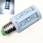 ZHISHUNJIA E27 9W 580lm 24-SMD 5630 LED Cold White Corn Lamp (85~265V)