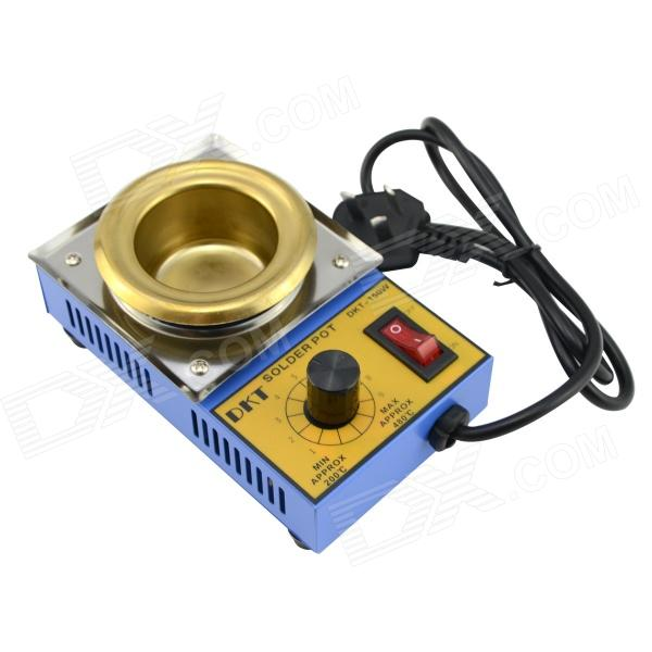 H2CX 150W AU Plug Leadfree Thermostat Tin Melting Furnace - Golden + Blue taie thermostat fy800 temperature control table fy800 201000