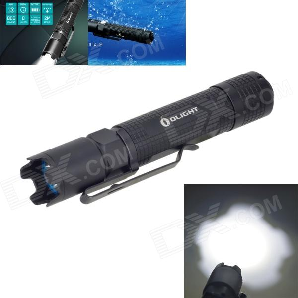 OLIGHT M18 500lm 3-Mode White Flashlight w/ CREE XM-L2 T6 - Black (1 x 18650 / 2 x CR123A)