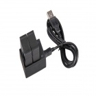 Double Battery Charger + Wall Charger + Car Charger for the GOPRO HERO 3/3 +