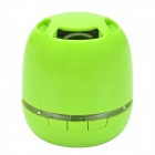KB-76 Mini Wireless Bluetooth V3.0 + EDR Speaker w/ Hands-free/ TF / Micro USB / Mic. - Green