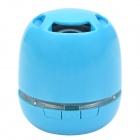 KB-76 Mini Wireless Bluetooth V3.0 + EDR Speaker w/ Handsfree/ TF / Micro USB / Mic. - Blue