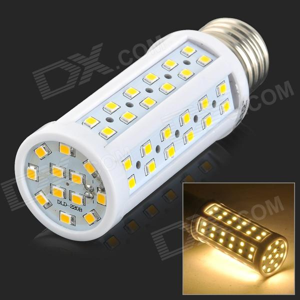 JRLED E27 9W 900lm 3200K 84-SMD 2835 LED Warm White Corn Lamp - White + Yellow (AC 220~240V)