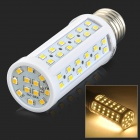 JRLED E27 9W 900lm 3200K 84-SMD LED Warm White 2835 Mais-Lampe - Weiß + Gelb (AC 220 ~ 240V)