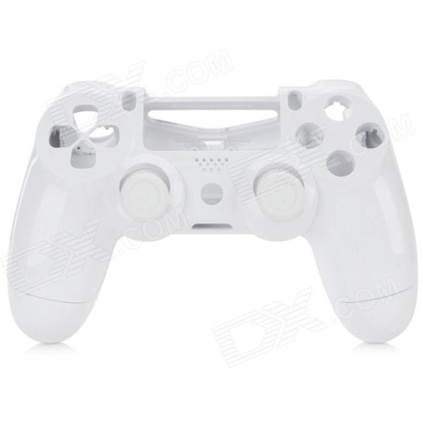Protective Controller Case + Joystick Cover Set for PS4 - White
