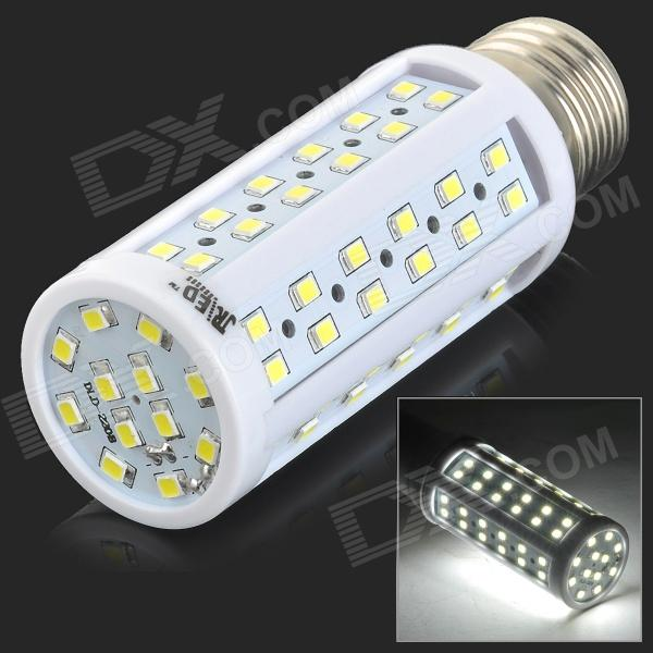 JRLED E27 9W 900lm 6300K 84-SMD 2835 LED White Light Corn Lamp - White + Yellow (AC 220~240V)