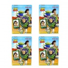 Genuine Fujifilm Instax Mini Instant Toystory Films Set (4 x 10 PCS) - Special Offer