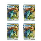Genuine Fujifilm Instax Mini Instant Monster University Films (4 x 10 PCS) - Special Offer