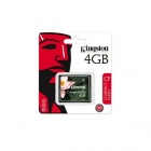 Kingston CF / 4GB Compactflash / CF-minneskort - Vit + Blå (4 GB)
