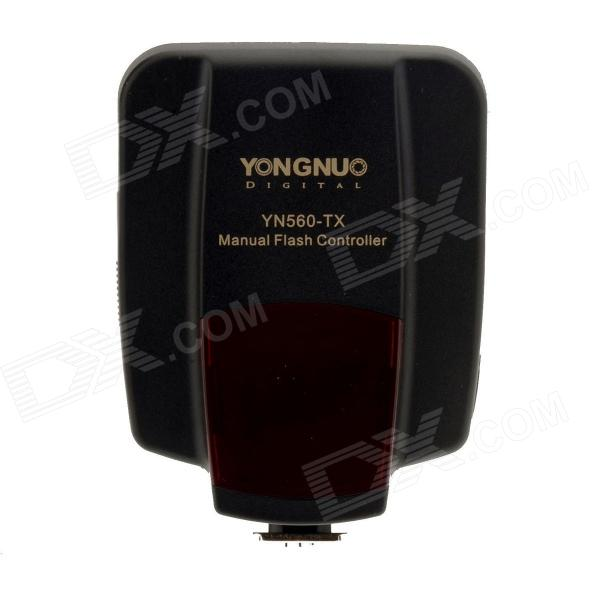 YONGNUO YN560-TX N Manual Flash Controller Wireless Trigger Shutter Receiver for Nikon DSLR Camera yongnuo yn622c ii hss e ttl flash trigger for canon camera compatible with yn622c yn560 tx rf 603 ii rf 605