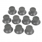 Replacement Thumb Stick Joystick Cap Cover for XBOX 360 Controller - Grey (10PCS)
